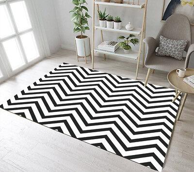 Wave Floor Rug Mat Bedroom Carpet