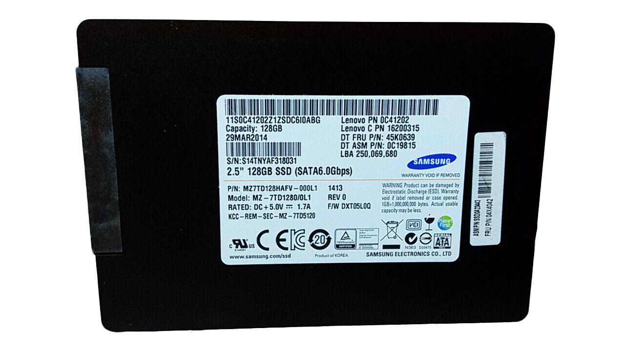 Samsung 840 Series MZ-7TD1280/0L1 128GB 2.5