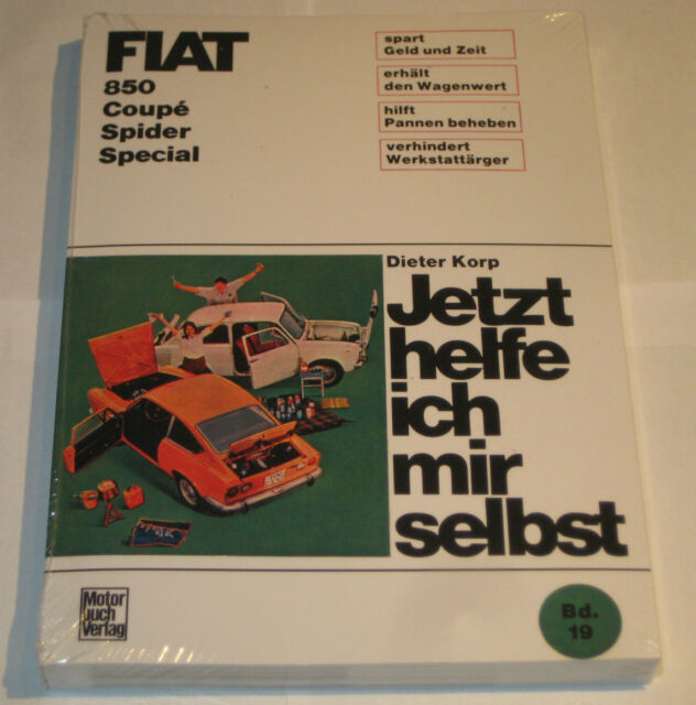 Repair Manual Fiat 850 / Spider / Coupe/Special,Year of Construction 1964 - 1973