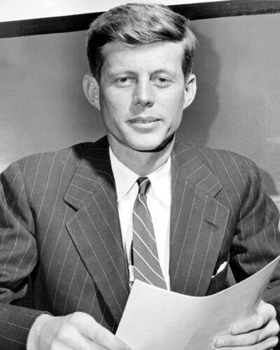 1946 Congressman JOHN F KENNEDY JFK Glossy 8x10 Photo Historical Print Poster