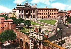 CARTOLINA-D-039-EPOCA-ROMA-BASILICA-DI-S-GIOVANNI-IN-LATERANO-1960-ca