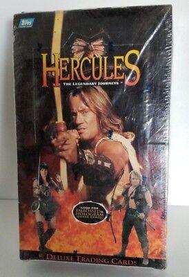 Hercules Legendary Journeys Trading Card Box Topps