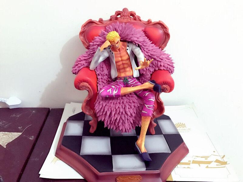 One Piece Model Sculpture Figure GK Resin POP mingo Donquixote Doflamingo Statue
