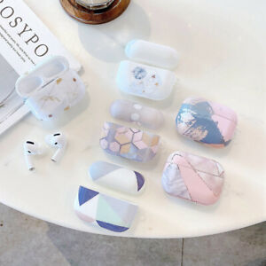 Hard Luxury Marble Earphones Case For Apple Airpods Pro Airpods 1 2 Charging Box Ebay