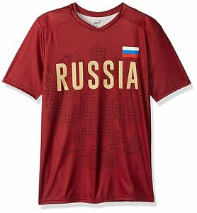 World-Cup-Soccer-Russia-Youth-Boys-Federation-Jersey-Short-sleeve-Tee