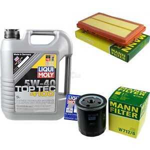 Inspection-Kit-Filter-LIQUI-MOLY-Oil-Oil-5L-5W-40-For-BMW-3er-E30-316i-318i