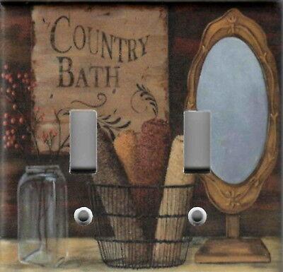 pRiMiTiVe Bathroom Baths 25c Soap 5c Country Home Decor