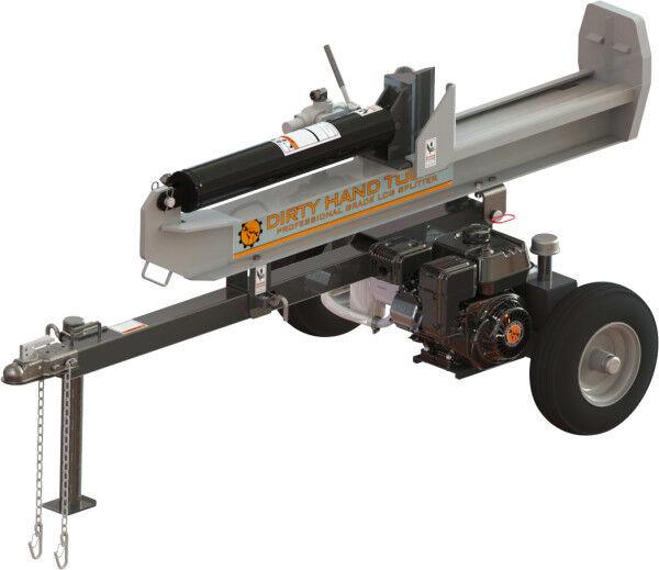 22 Ton Full-Beam Horizontal/Vertical Log Splitter-Dirty Hand Tools