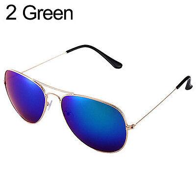 Luxury Womens Mens Polarized Retro Mirror Lens Sunglasses Glasses