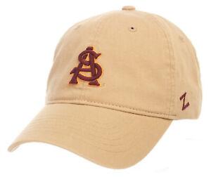 ARIZONA ST. SUN DEVILS ASU NCAA STRAPBACK SCHOLARSHIP RELAXED DAD CAP HAT NWT!