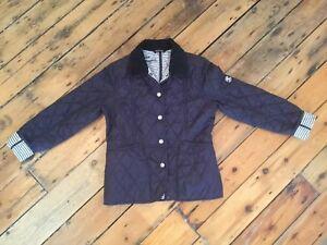 Girls-Navy-Barbour-Jacket-Medium