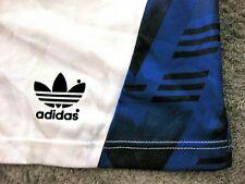 VINTAGE Adidas Sport Pantaloni Pantaloncini 90er M-L Shiny PANTS lucentezza turn Pantaloni NOS rariät