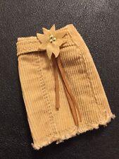 Bratz Doll Clothes Cloe's Original Style It Brown Cord Skirt