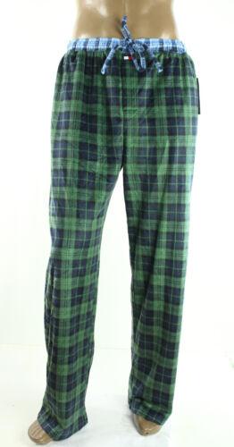 New Tommy Hilfiger Fleece Sleepwear Hunter Plaid Lounge Pajama Pants XL 40-42