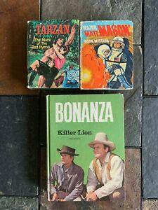 BIG-LITTLE-BOOKS-MAJOR-MATT-MASON-amp-TARZAN-BONANZA-BOOK-ITEM-3737