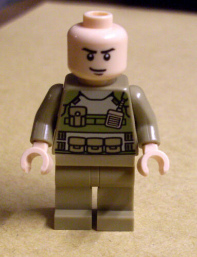 Colonel Hardy Figur Neu Lego Superman Hardie Super Heroes Körnel Superman