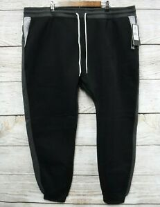 Southpole-Jogger-Pants-Mens-5XB-Black-amp-Gray-Fleece-Skinny-Fit-New-Mis-Tagged