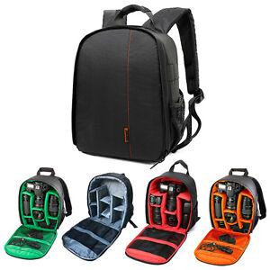 Image Is Loading Waterproof Camera Backpack Bag Lens Case Rucksack For