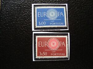 Portugal-Stamp-Yvert-and-Tellier-N-879-880-N-A22-Stamp