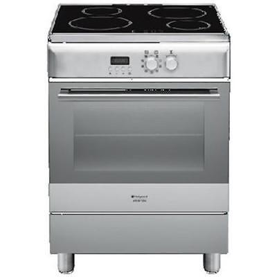 HOTPOINT Cucina Elettrica H6IMAACX 4 Zone Cottura a Induzione Forno Elettrico Ve