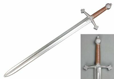 "41/"" Medieval Scottish Claymore Sparkfoam Foam Sword w// Chrome Blade  LARP"