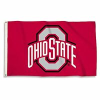 Ncaa Ohio State Buckeyes 3 X 5-feet Flag With Grommets, Team Color, One Size, Ne on sale
