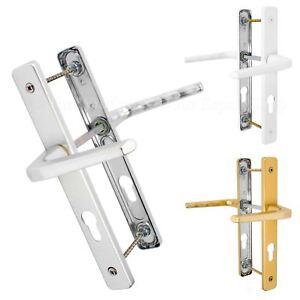 UPVC-Door-Handle-Hoppe-Ferco-70mm-70PZ-200mm-Fixings-Double-Glazing-Pair-Set