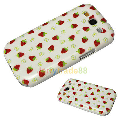 Nice Strawberry Picture Hard Back Shell Case Cover for SAMSUNG i9300 Galaxy S3