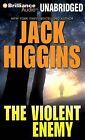 The Violent Enemy by Jack Higgins (CD-Audio, 2011)