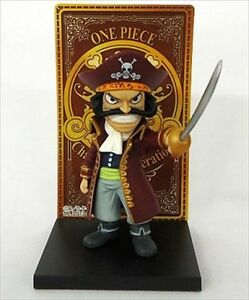new one piece gold roger card stand figure the legend of gold roger