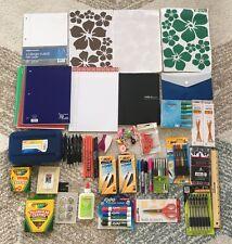 NEW Lot of School Office Supplies Pen Marker Pencil Highlighter Notebook 1096