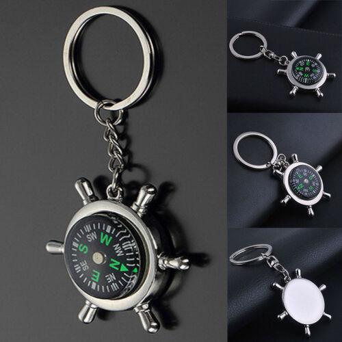 Hot Kompass Metallauto Schlüsselring Keychain Schlüsselband Schlüsselanhänger