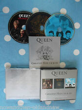 QUEEN ~ GREATEST HITS 1-2-3 ~ HEAVY METAL~HARD~ROCK~MERCURY~FREE UK POSTAGE