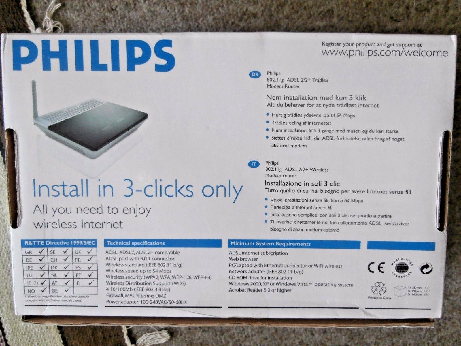 PHILIPS CGA5722 MODEM DRIVER PC