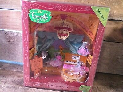 Autres Hippomotos On The Stage Furryville Collection 2 Souple Posable Nouveau Jouet High Quality And Low Overhead