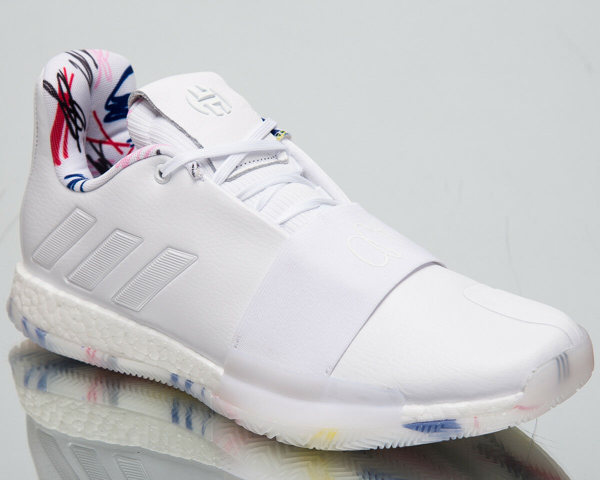 ADIDAS temprato vol.3 NUOVO uomo Scarpe da pallacanestro calzatura calzatura calzatura Bianco Basso Top 018cff