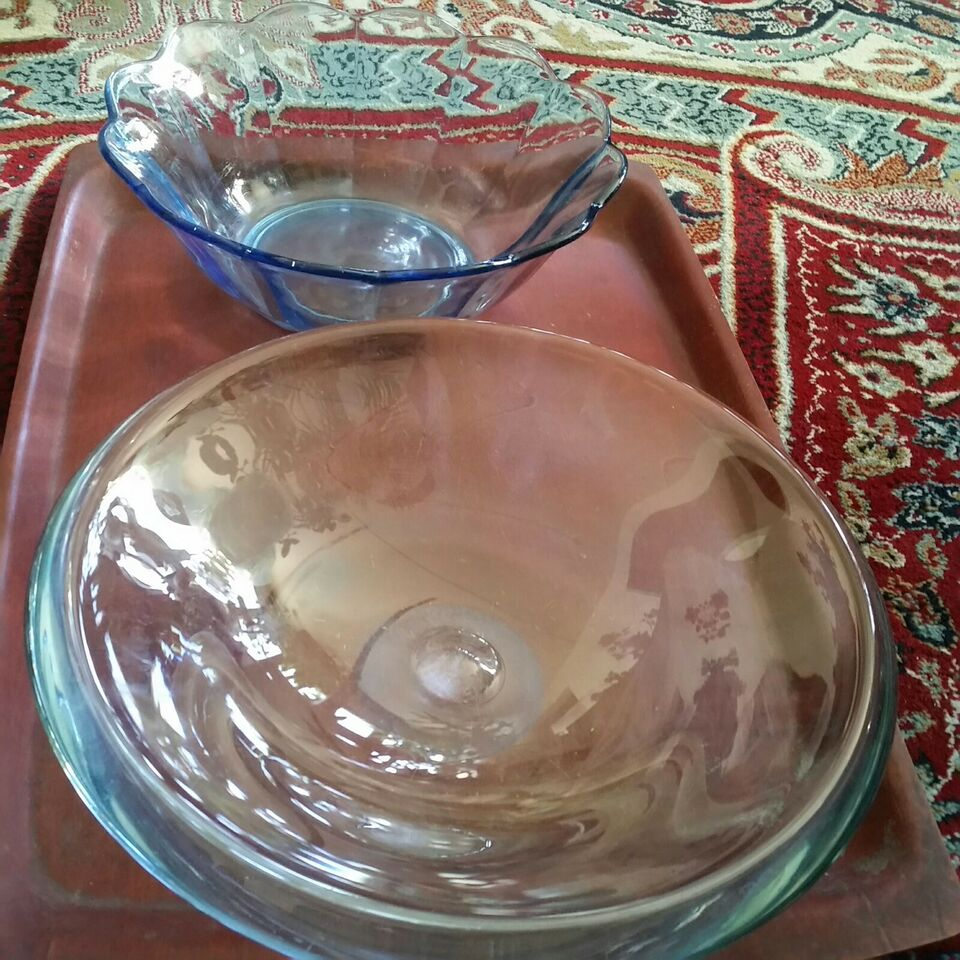 Glas, Fad skål, Bing Grøndahl Per Lutken ?B&G