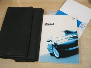 mazda 6 handbook pack owners manual wallet 2002 2006 ebay rh ebay co uk mazda 6 2002 owners manual pdf mazda 6 2007 owners manual uk