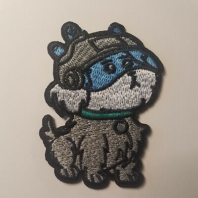 Rick /& Morty Dog Snuffles  Patch  2 1//4 inches wide