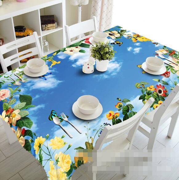 3D Art Sky 42 Tablecloth Table Cover Cloth Birthday Party Event AJ WALLPAPER AU