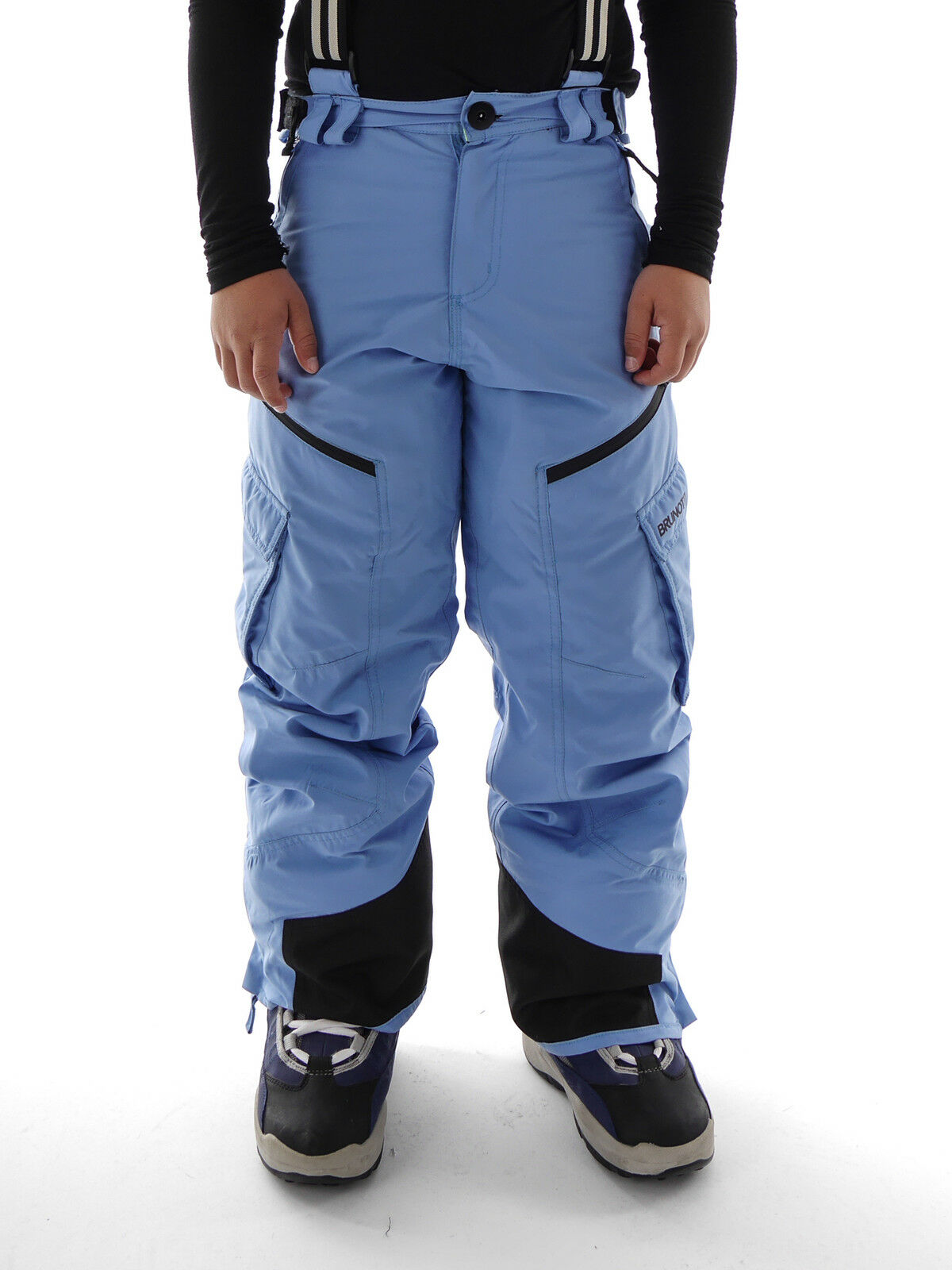 Brunotti Ski Pants  Douglasy Jr blue Suspenders 0 5 16in Snow Guard  classic fashion