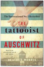 The Tattooist Of Auschwitz - Heather Morris Paperback - Brand New