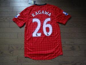 b44ad658bc6 Image is loading Manchester-United-26-Shinji-Kagawa-100-Original-Jersey-