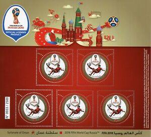 Dynamique Oman 2018 Neuf Sans Charnière Fifa Coupe Du Monde Football Russie 2018 5 V M/s Soccer Sports Timbres-afficher Le Titre D'origine Vente En Ligne Du Dernier ModèLe En 2019 50%