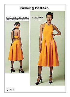 Vogue V9075 Very Easy PATTERN Misses//Misses Petite Dress//Jumpsuit-Size 6-22 BN
