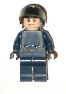 Female New w Helmet from 10756 Lego Jurassic World Minifigure CHOPER PILOT