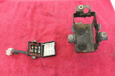76-77 HONDA CJ360T 360 OEM BATTERY BOX HOLDER & FUZE BOX W/FUZES