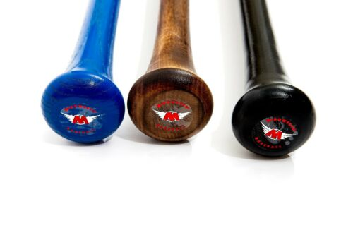 M^POWERED BASEBALL RED LABEL  3 PACK PRO MAPLE BEECH /& ASH BATS for $199 70/% off