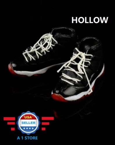 CUSTOM 1/6 scale Sneakers Shoes HOLLOW for 12 Male Figure PHICEN Hot Toys