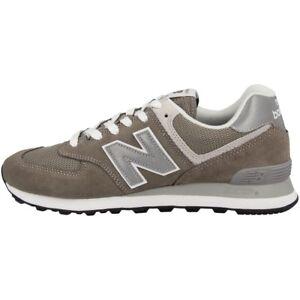 NEW BALANCE ML 574 EGG Scarpe ESSENTIAL tempo libero sport grigio sneaker
